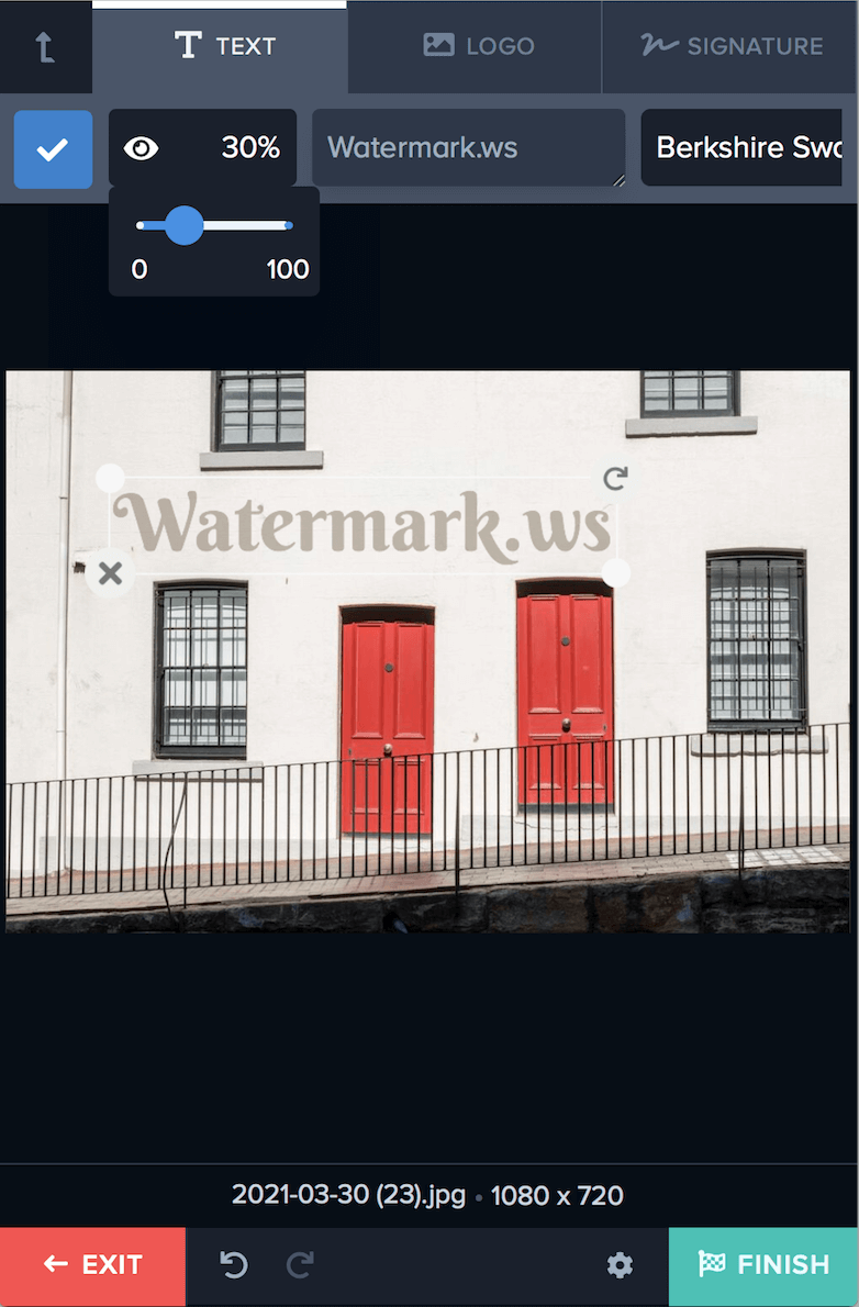 Watermark Your Files